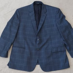 Jos. A Bank navy wool blazer